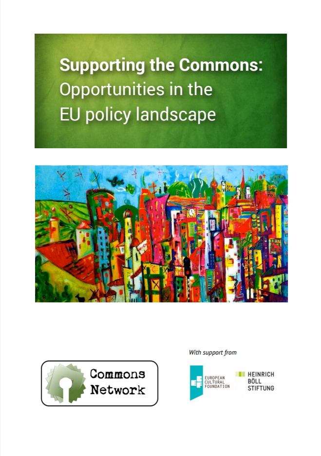Supporting the Commons: Opportunities in the EU policy landscape